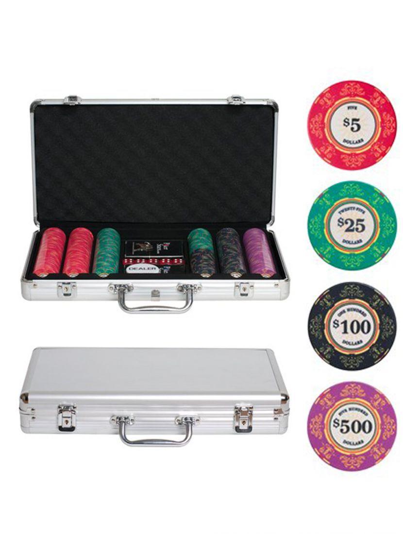 Покер «Luxury Ceramic» 300 фишек