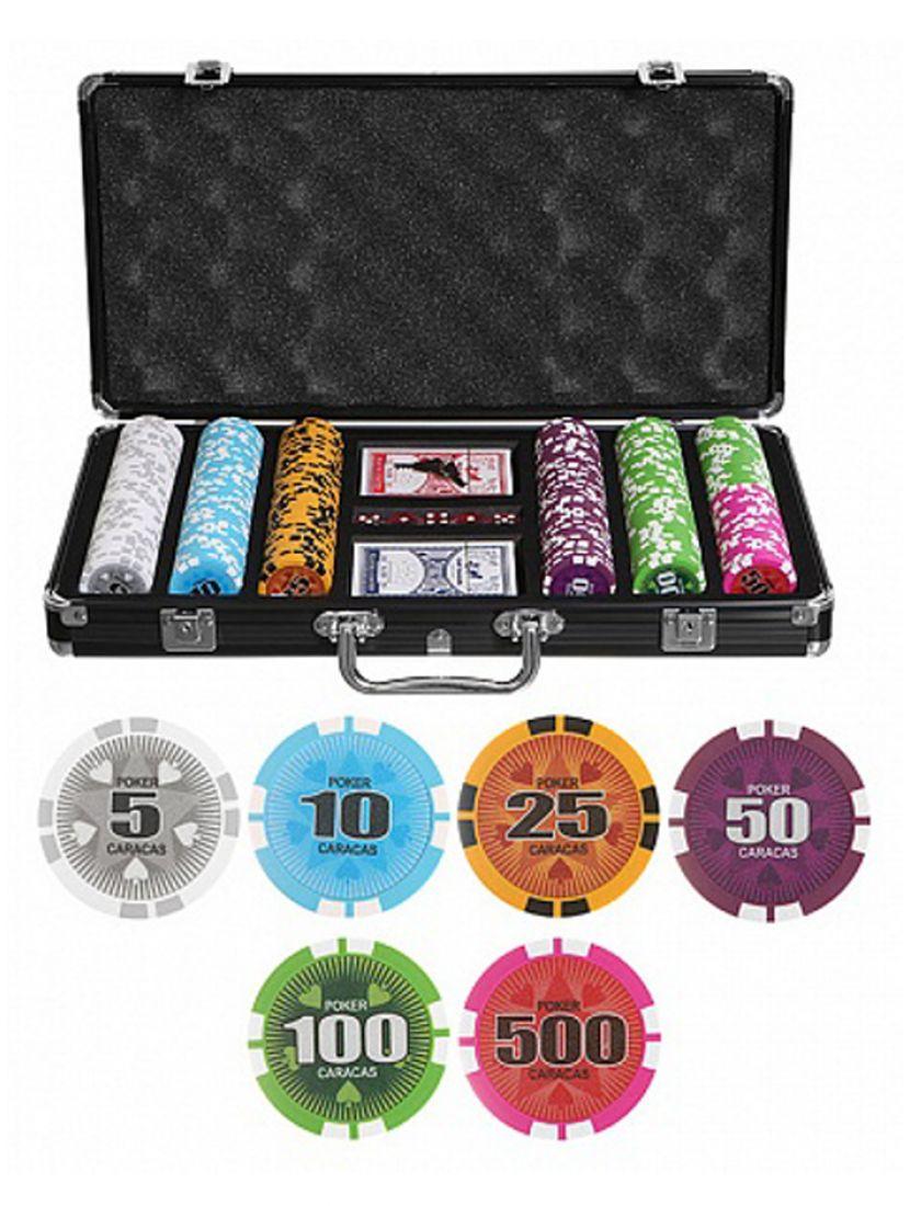 Покер «Caracas» 300 фишек