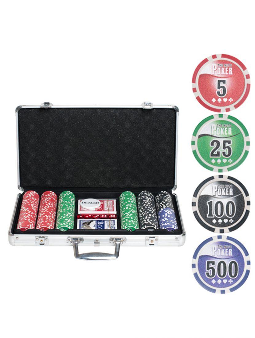 Покер «NUTS» 300 фишек