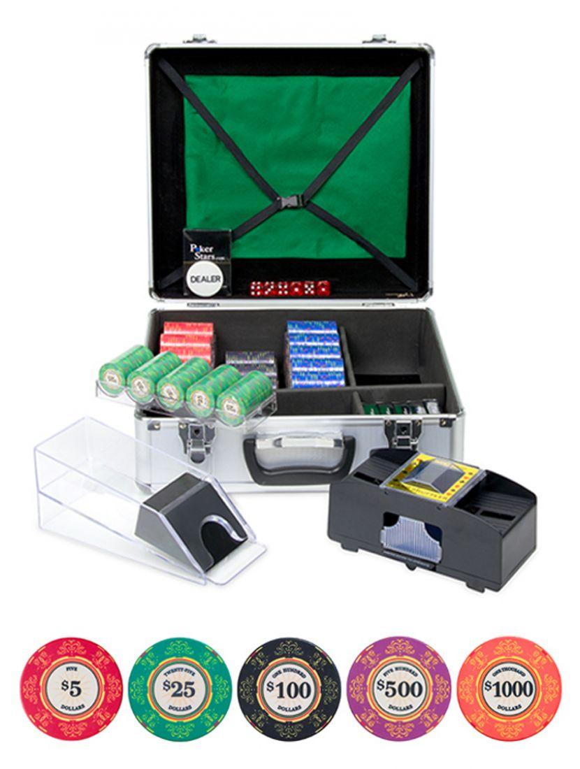 Покер и блэк-джек «Luxury Ceramic» на 600 фишек