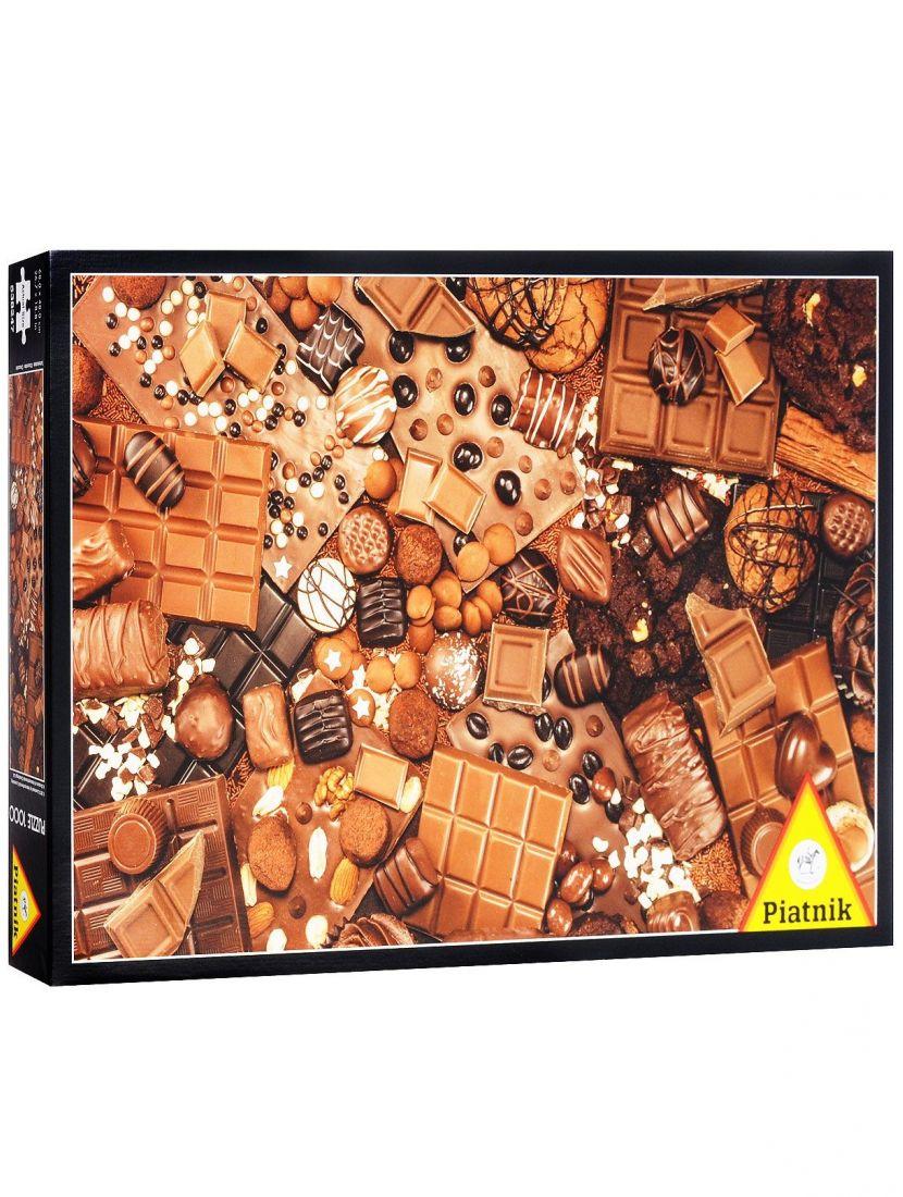 Пазл «Шоколад»  1000 элементов