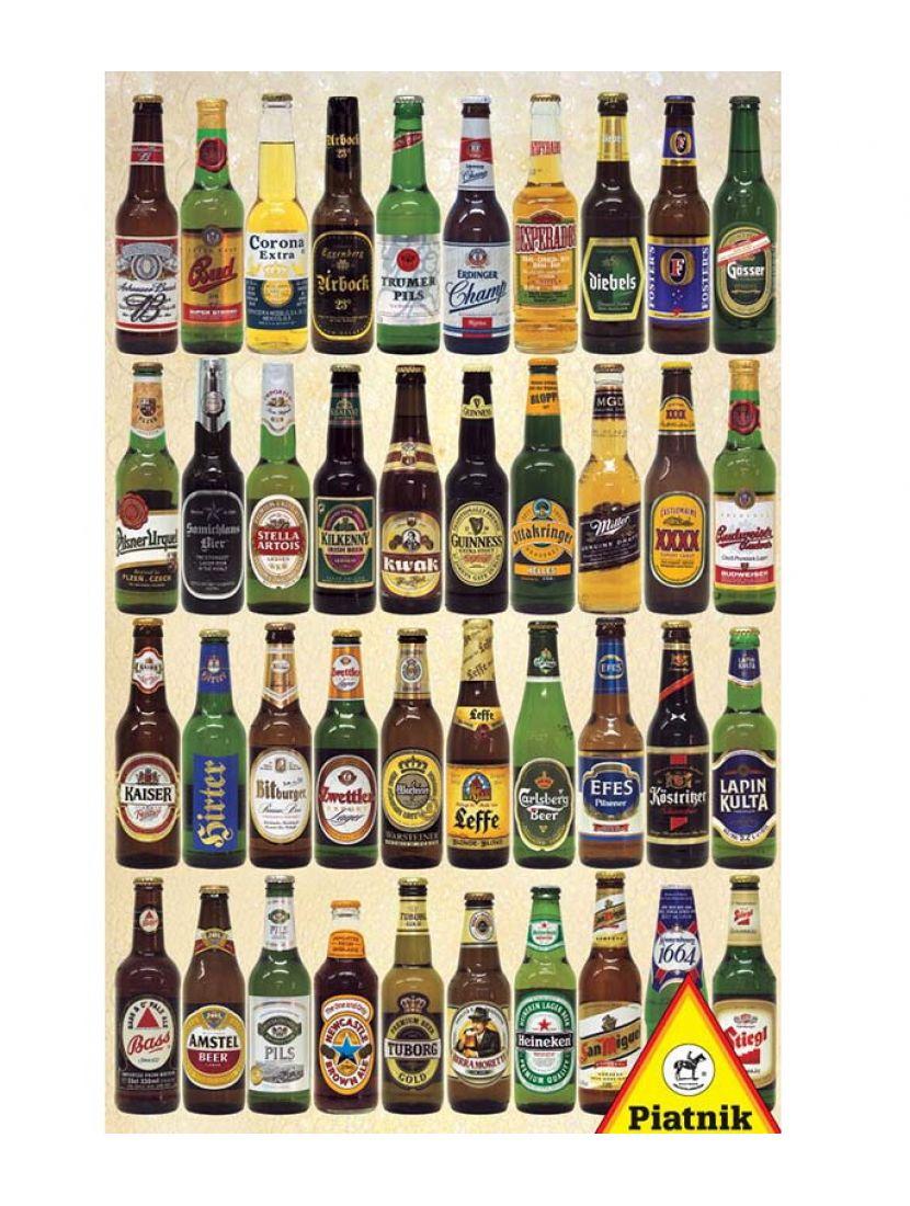 Пазл «Пиво мира» 1000 элементов