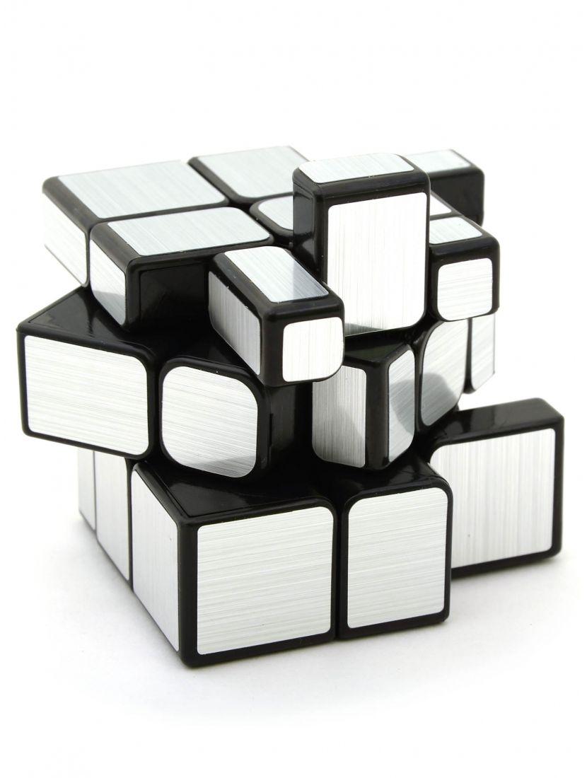 Кубик зеркальный «Mirror S» серебряный
