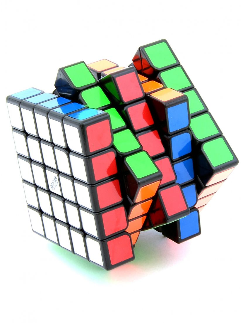 Кубик «WuShuang» QiYi MoFangGe 5x5x5 чёрный