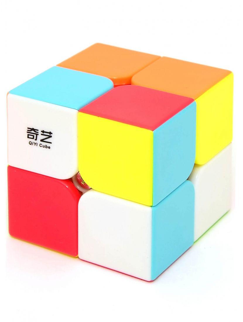 Кубик Рубика «QiDi S» QiYi 2x2x2 цветной пластик