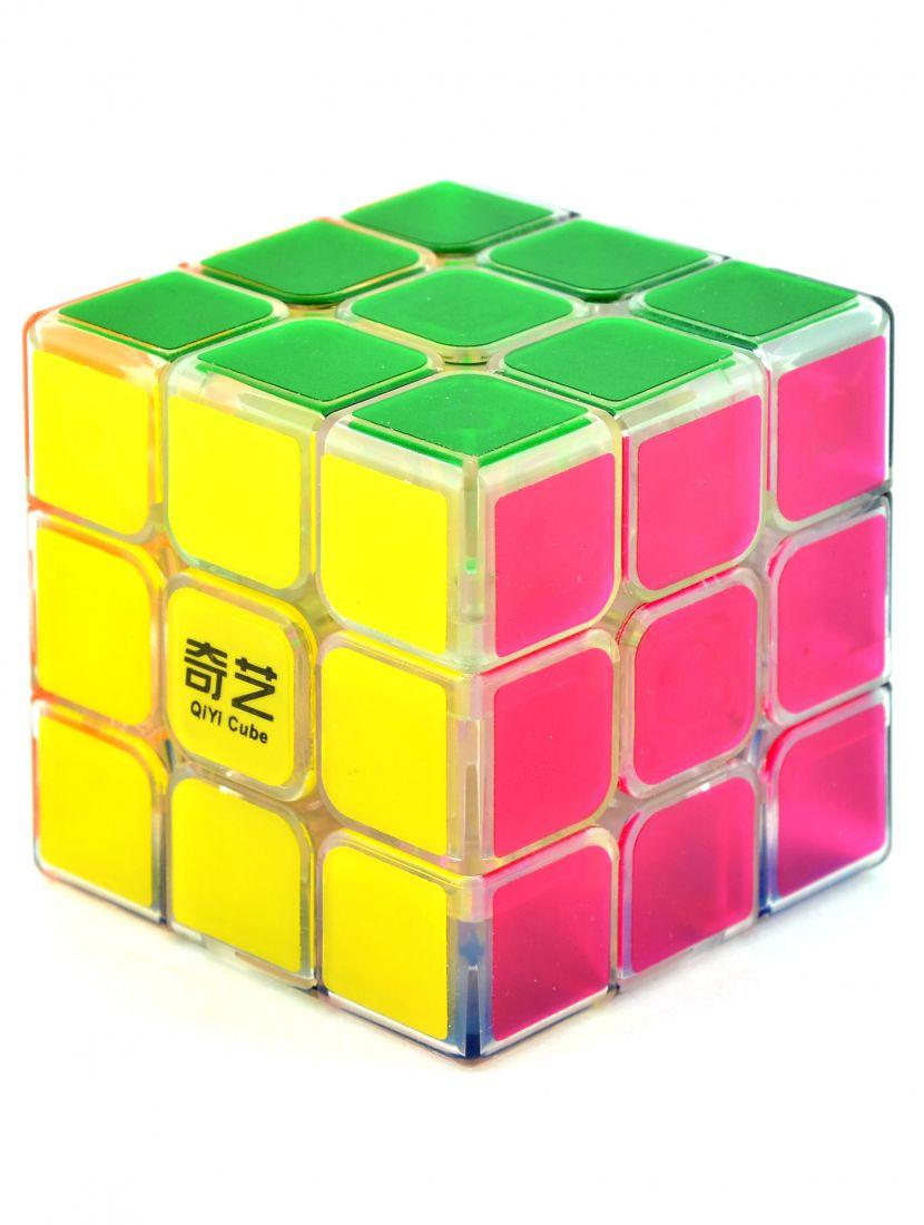 Кубик «QiHang Sail Transparent» 3x3x3 прозрачный 60 mm