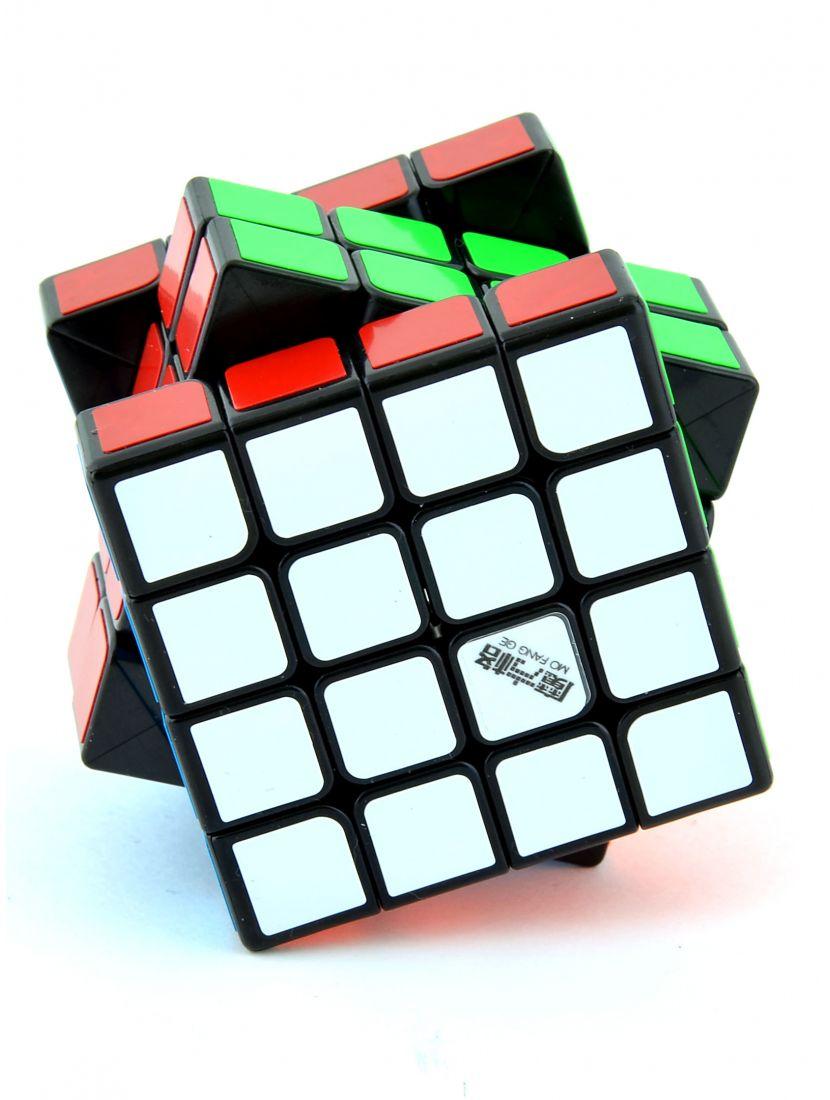 Кубик «Thunderclap mini» 4x4x4 QiYi чёрный
