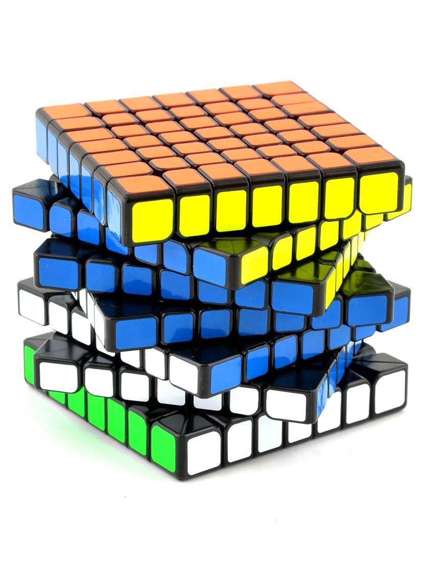 Кубик «WuJi» QiYi MoFange 7x7x7 чёрный