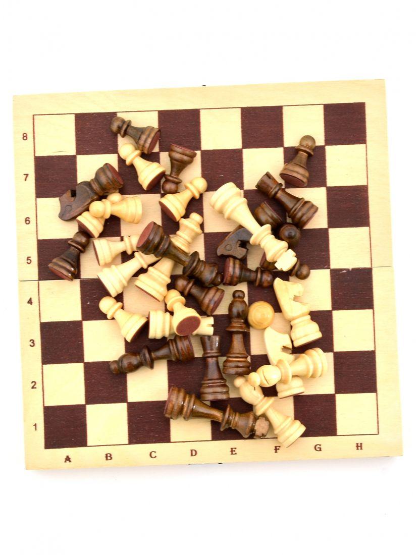 Шахматы «Походные» китайские фигуры