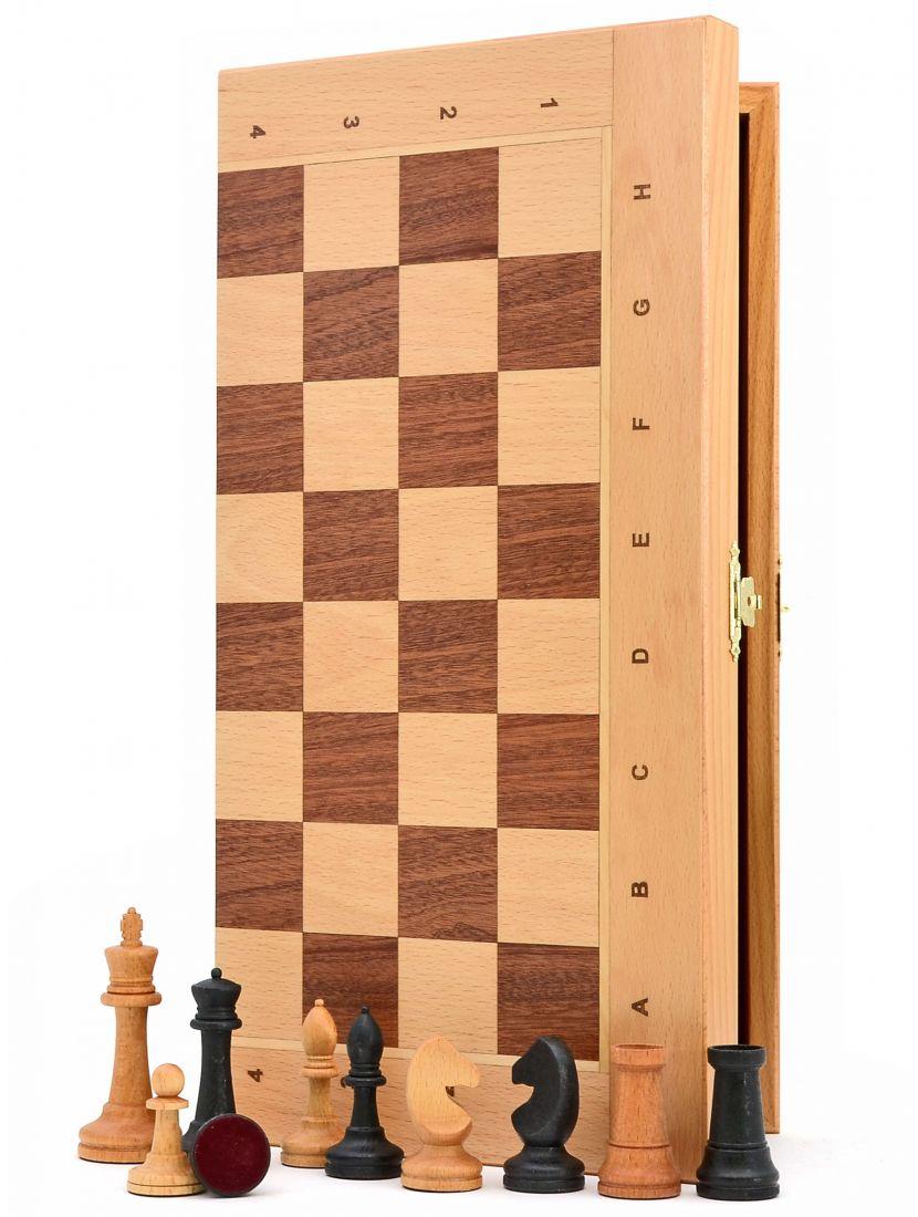 Шахматы «Ивановские бук» доска панская