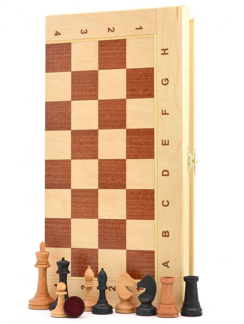 Шахматы «Ивановские берёза» доска панская