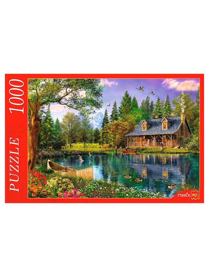 Пазл «Домик у озера» 1000 элементов
