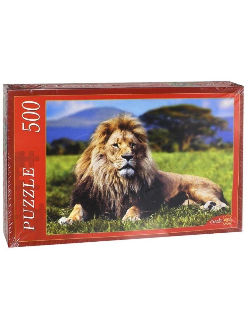 Пазл «Лев» 500 элементов
