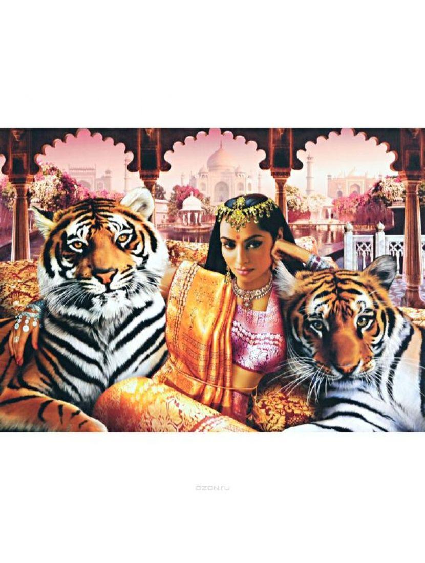 Пазл «Принцесса Индии (Золотая коллекция)» 1000 элементов