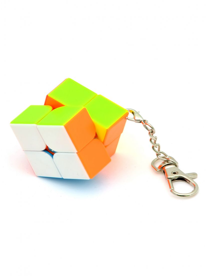Брелок мини кубик Рубика «Mini 2x2 cube keychain cube»