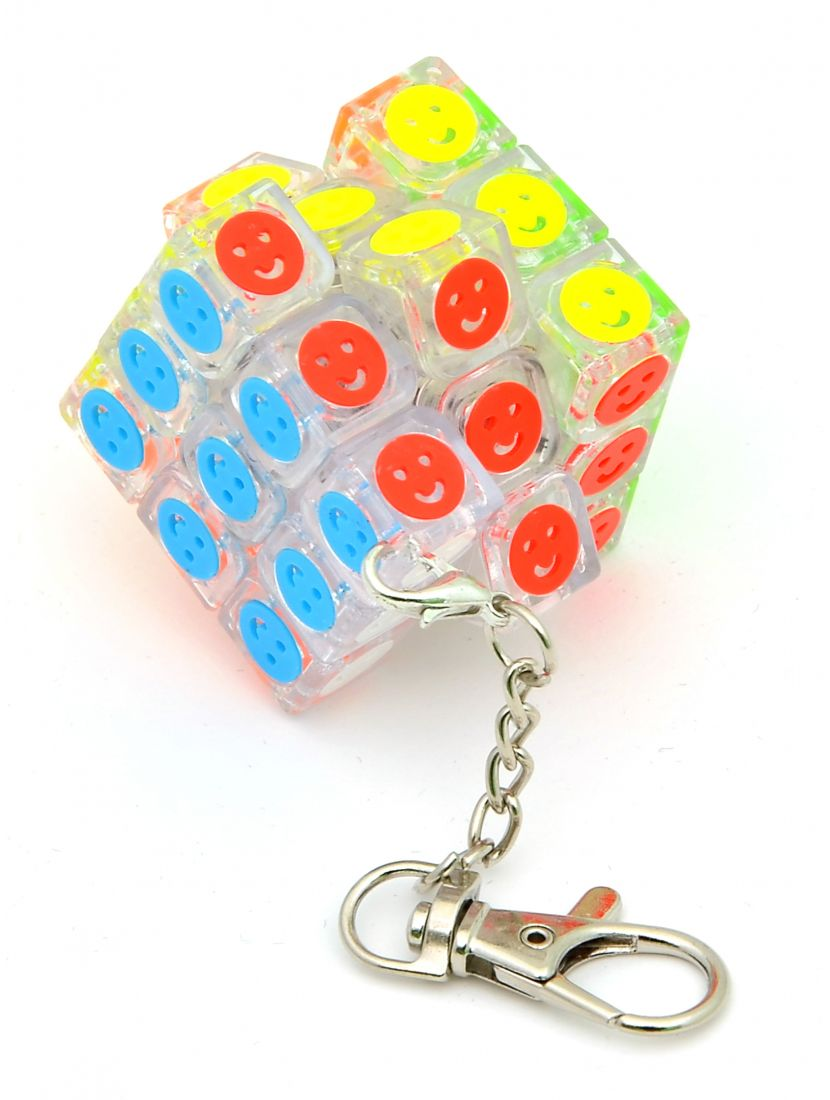 Брелок мини кубик Рубика