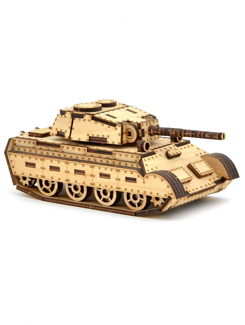 Конструктор танк «Тигр-2»