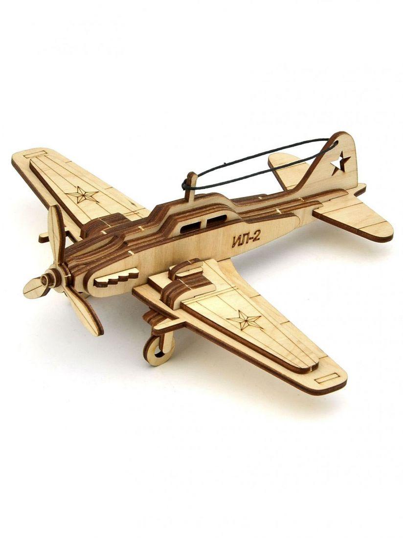 Конструктор «ИЛ-2» 3D самолёт