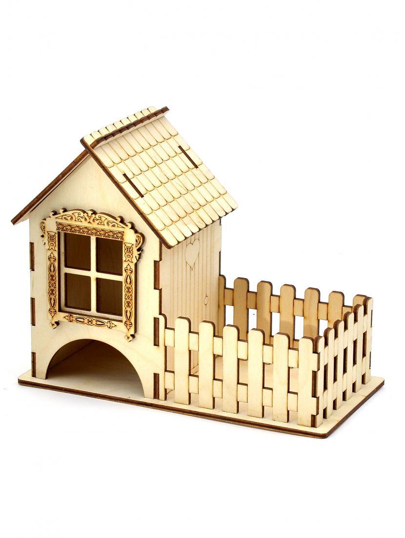 Конструктор конфетница «Чайный домик» 3D