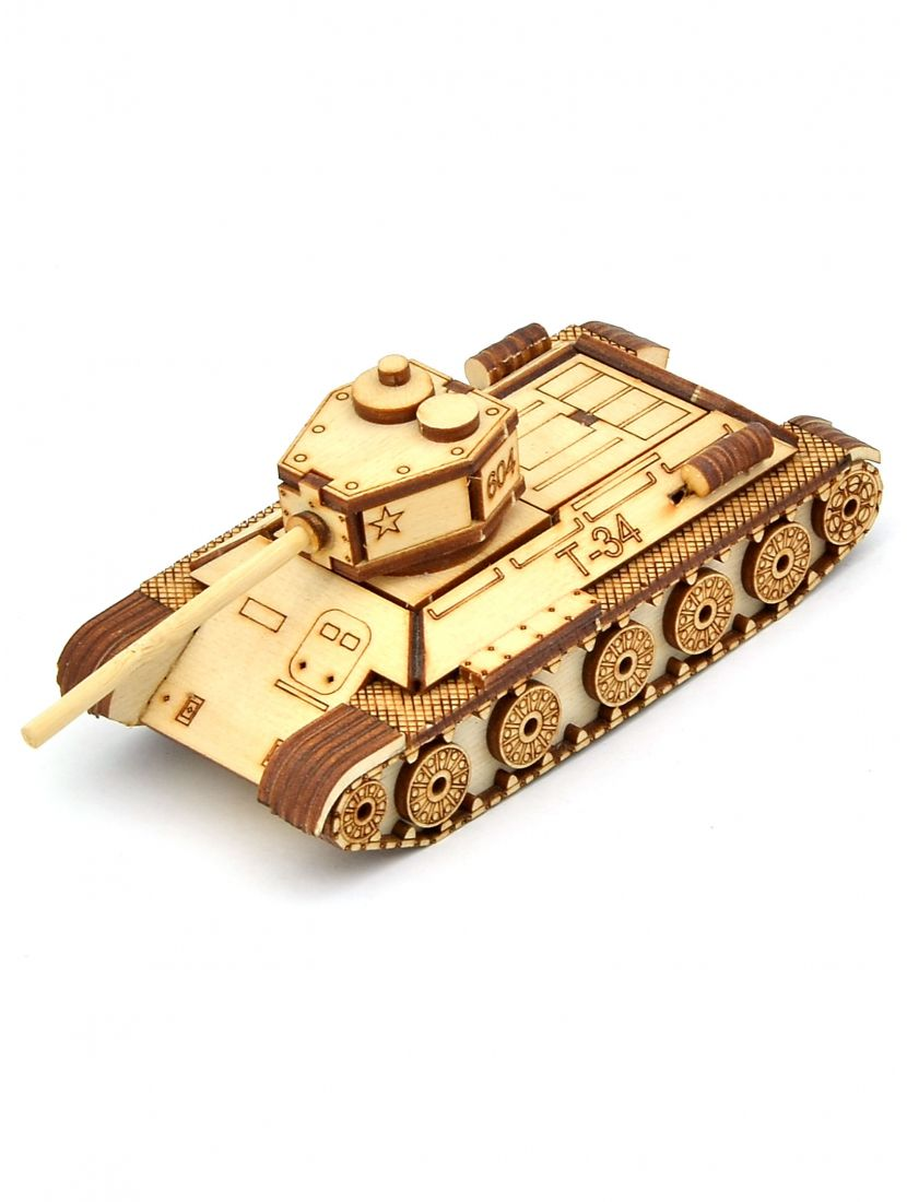 Конструктор «Танк Т-34» 3D