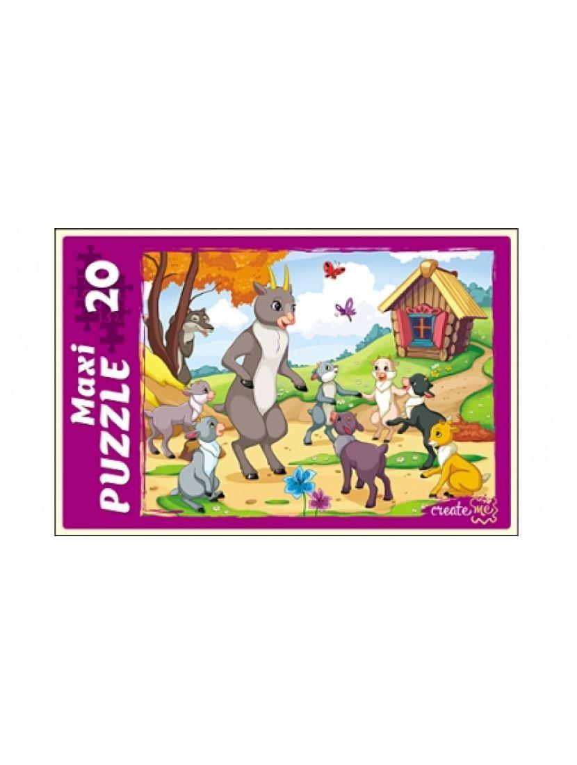 Пазл «Волк и семеро козлят» 20 MAXI элементов