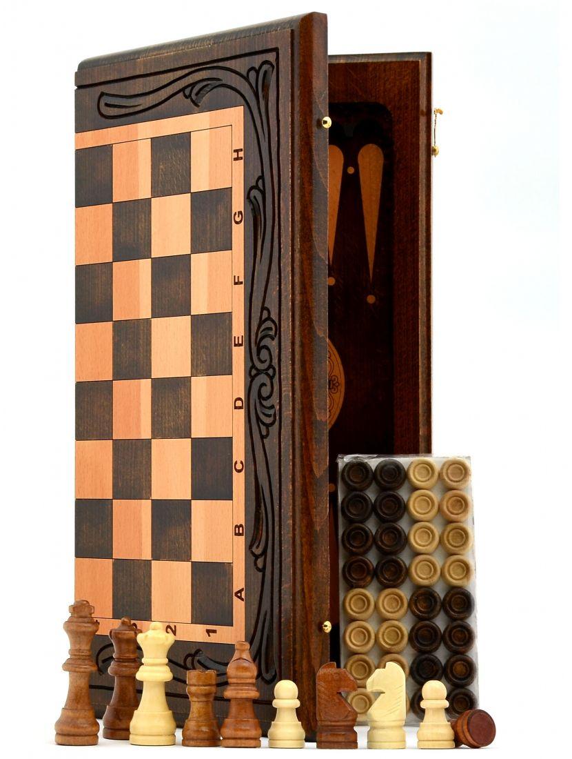 Нарды + шахматы + шашки «Армянские»