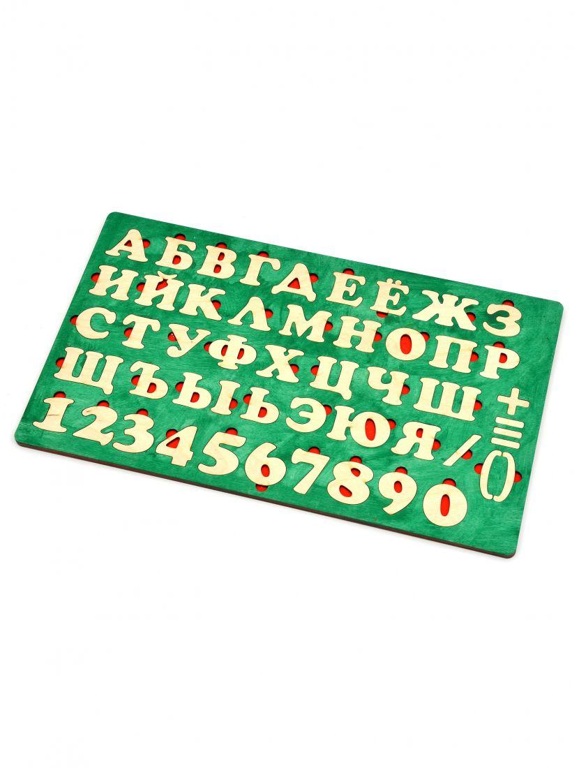 Деревянный пазл «Алфавит-6»