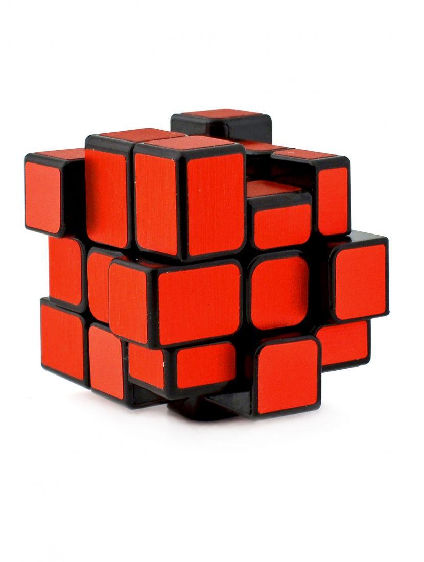 Кубик зеркальный «Ice brushed Inequilateral» красный