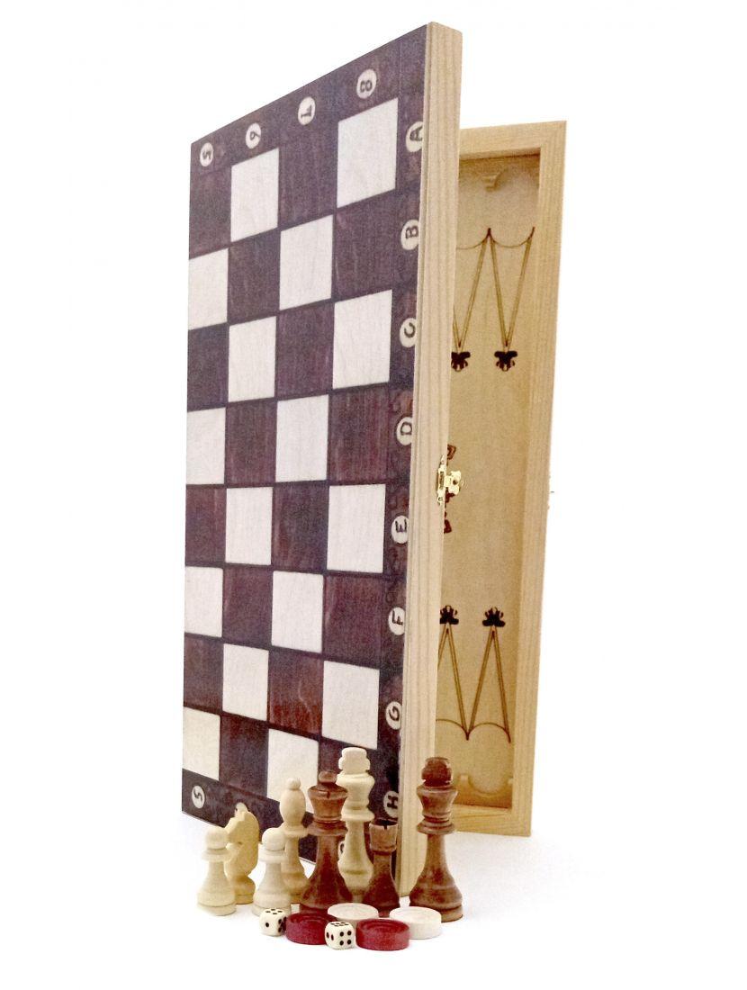 Нарды + шахматы + шашки «Мадон»