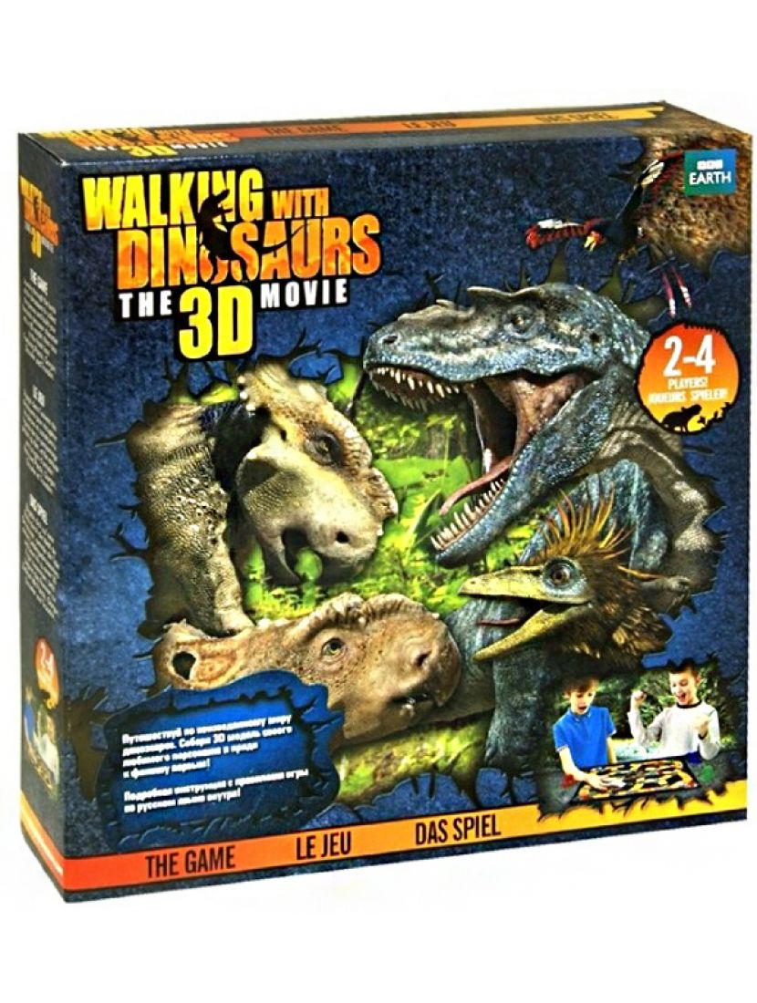 Настольная игра «Walking with Dinosaurs» 3D-фигурки