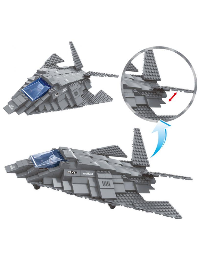 Конструктор «Самолёт-невидимка F-117» 22603