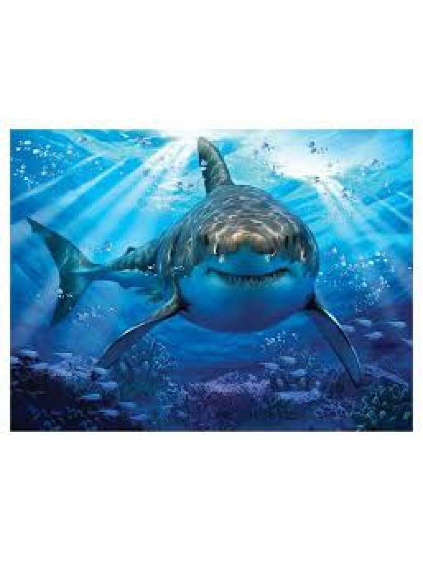 Пазл 3D «Большая белая акула 2» 150 элементов