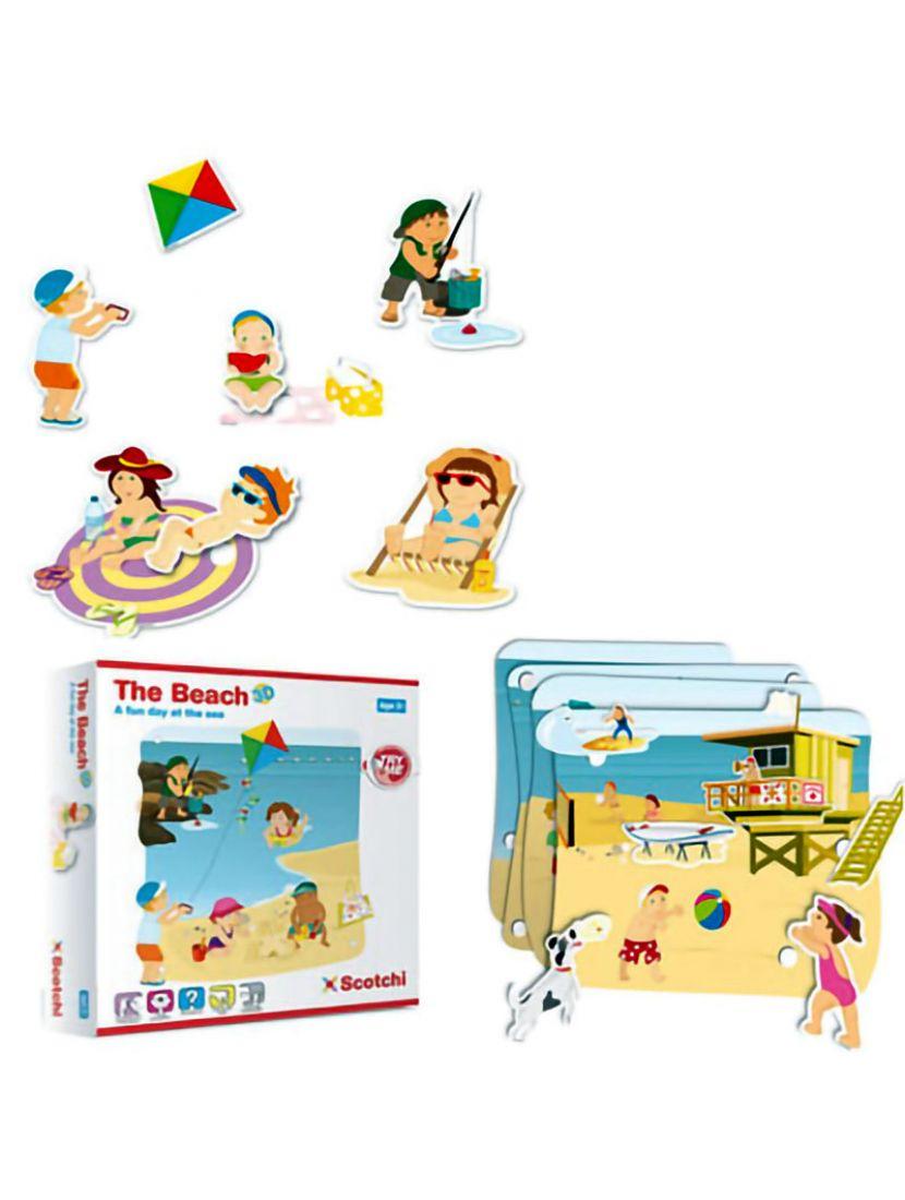 Настольная игра «На пляже»