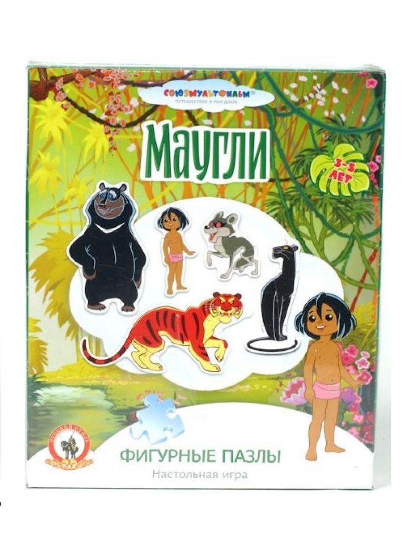 Набор 5 пазлов «Маугли»