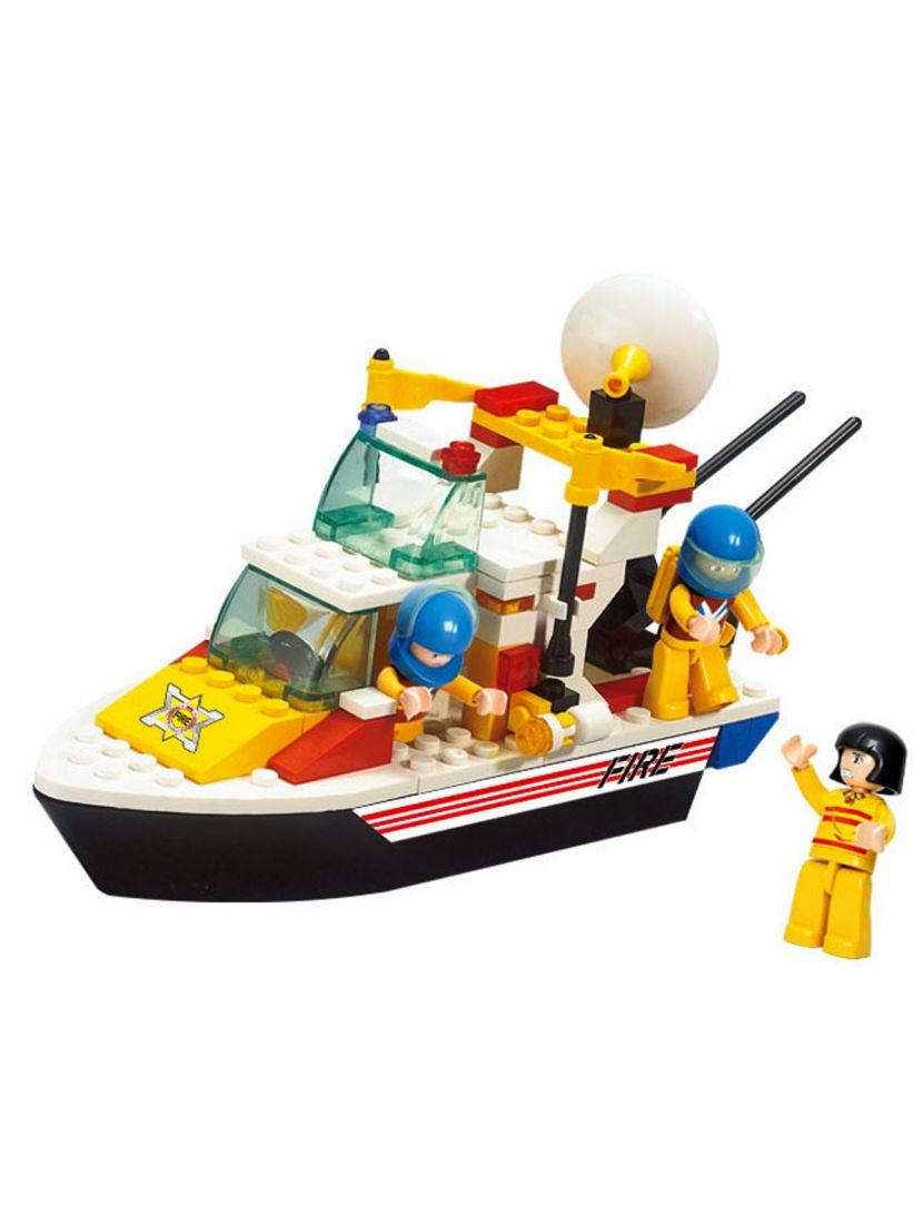 Конструктор «Пожарные: Спасательный катер»