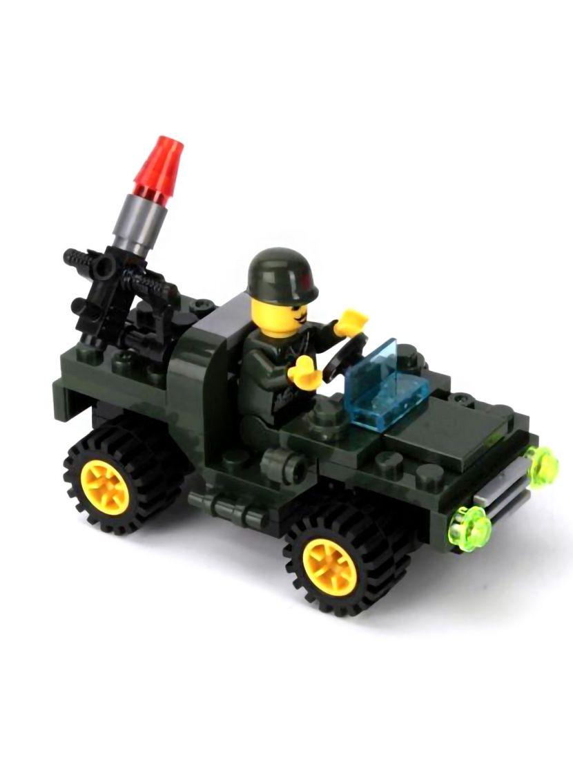 Конструктор «Военный джип»