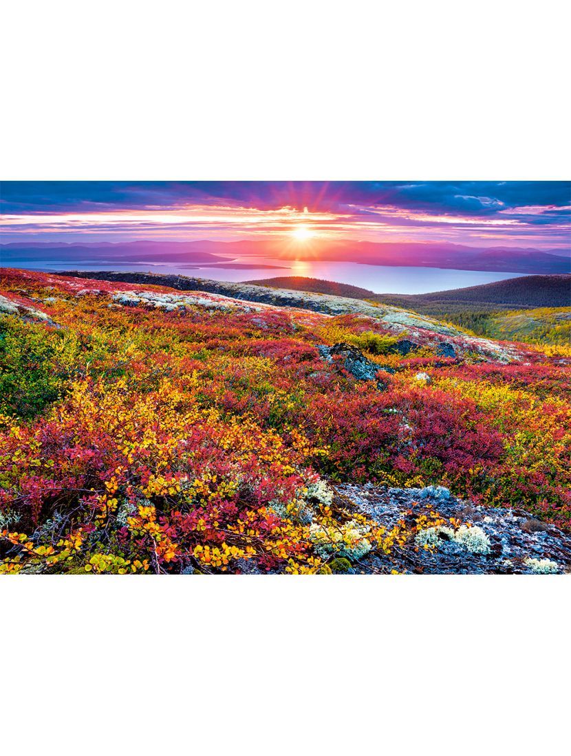 Пазл «Озеро пяти цветков, Китай» 1000 элементов