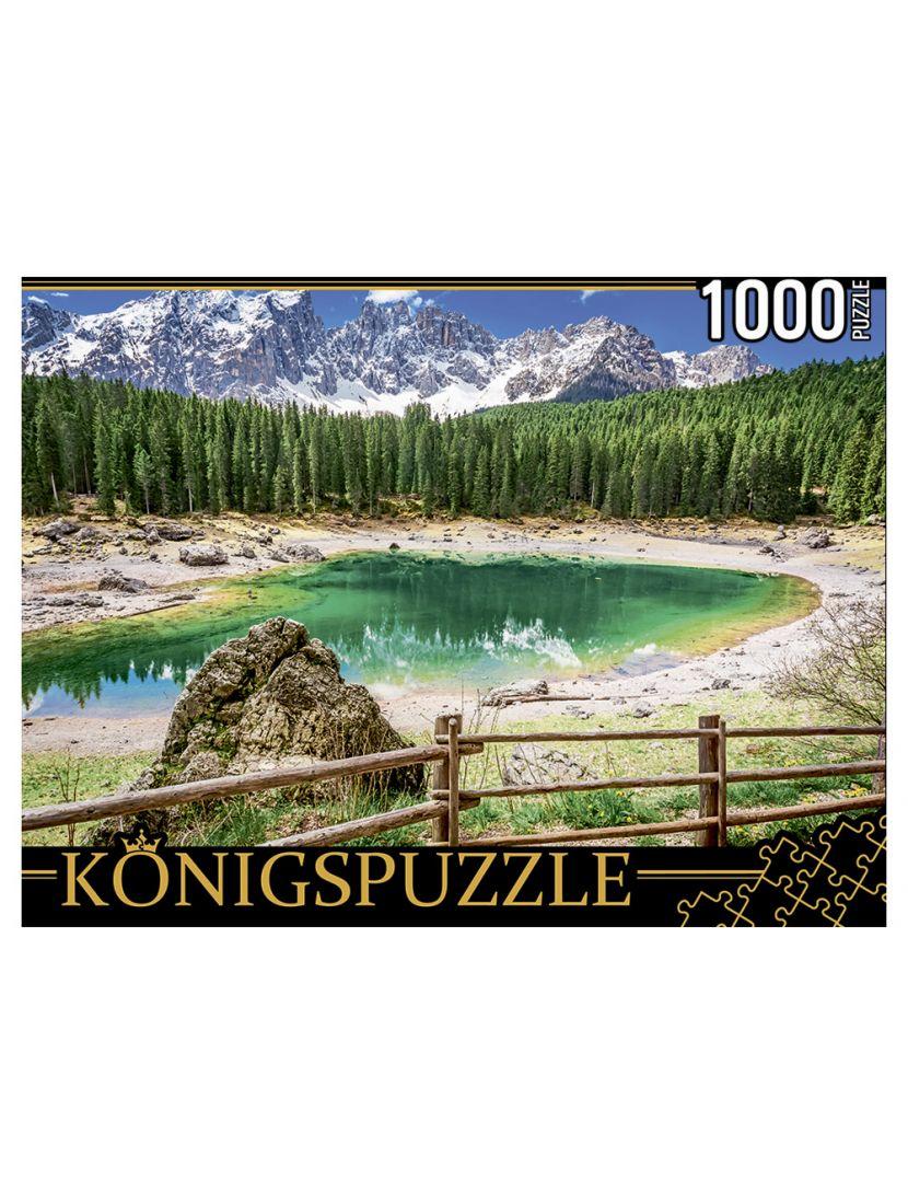 Пазл «Озеро радуги, Италия» 1000 элементов