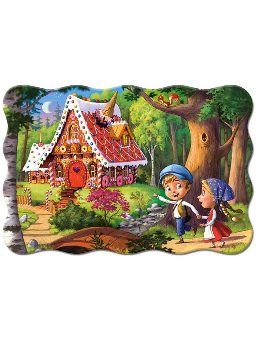 Пазл «Пряничный домик» 20 MAXI элементов