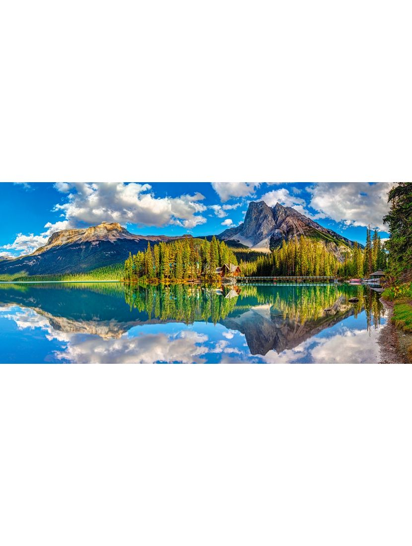 Пазл «Изумрудное озеро» 600 элементов