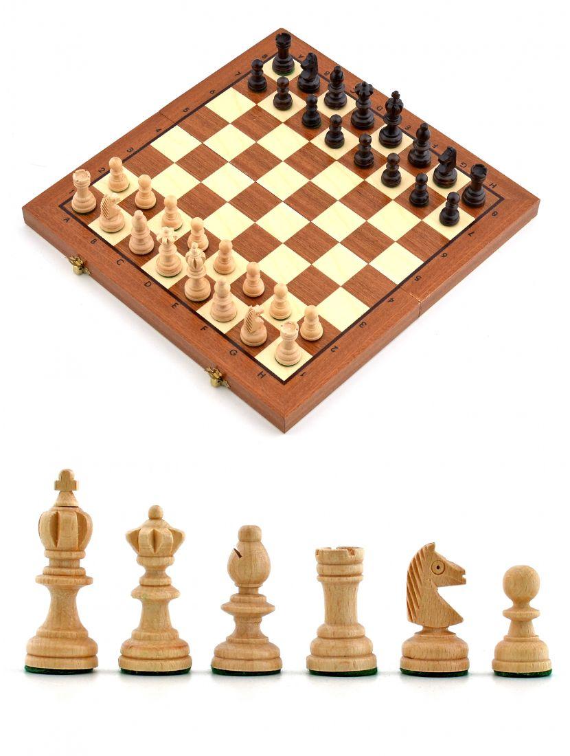 Шахматы «Олимпийские» средние (шпон)