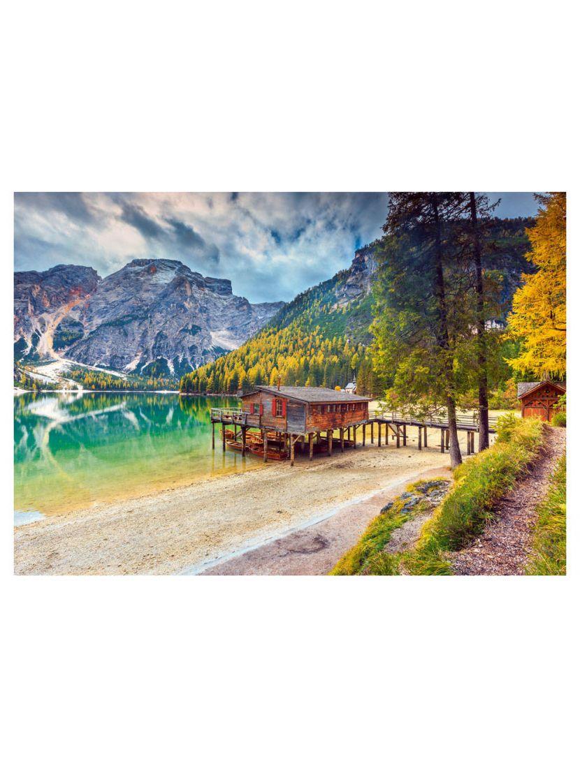 Пазл «Италия. Озеро Брайес» 500 элементов