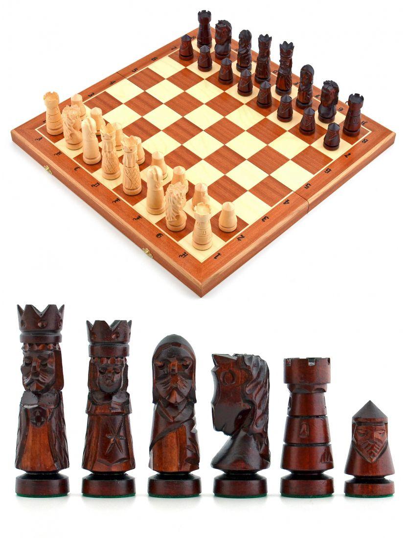 Шахматы «Малый замок» с инкрустацией