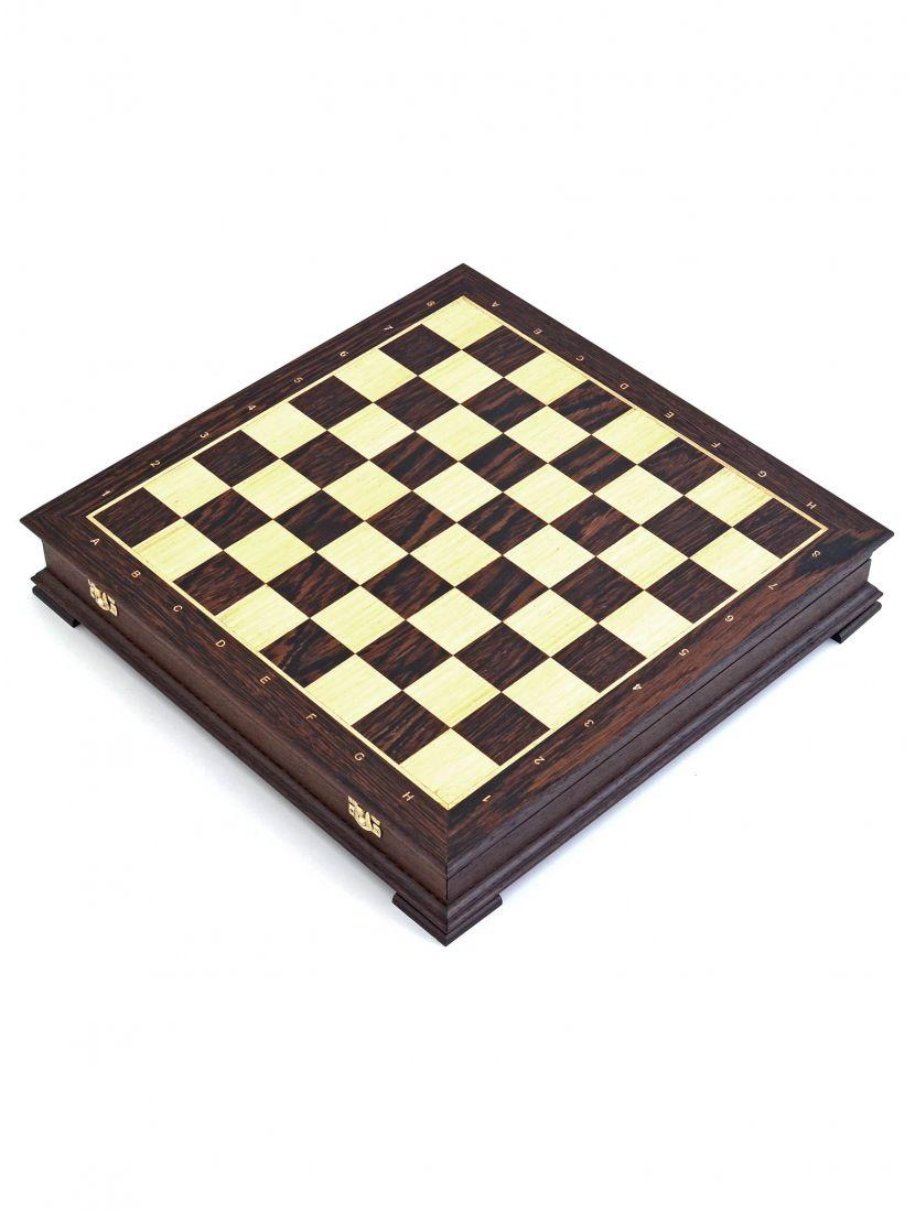 Шахматный ларец «Стаунтон» венге 45 см