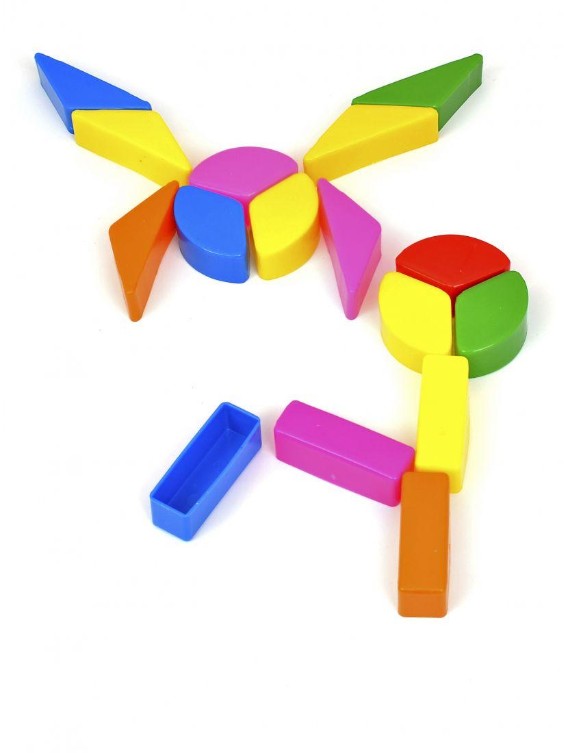 Конструктор «Весёлая геометрия. Малые элементы»