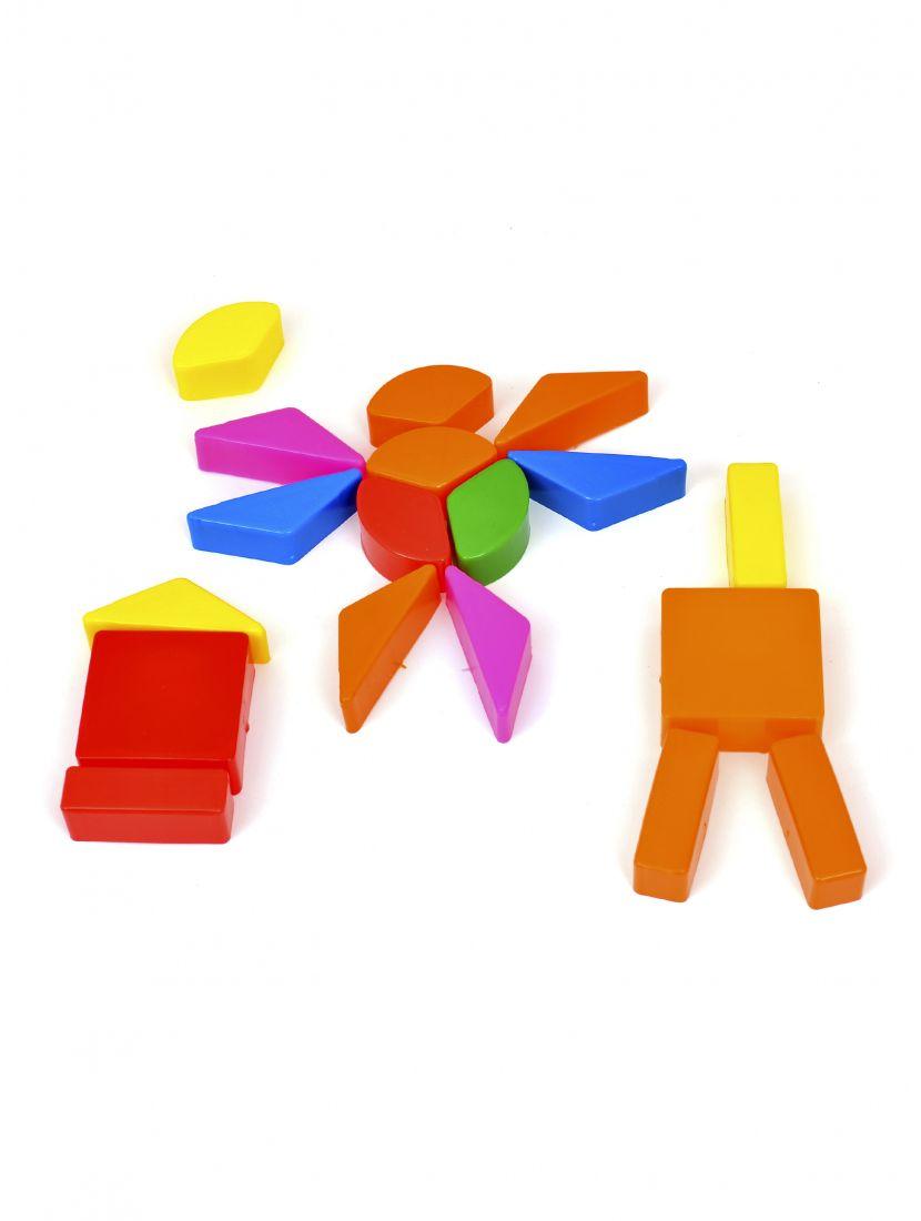 Конструктор «Весёлая геометрия. Крупные и малые  элементы»