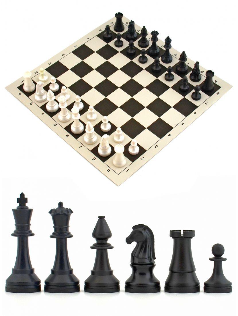 Шахматы «Турнирные» виниловая доска