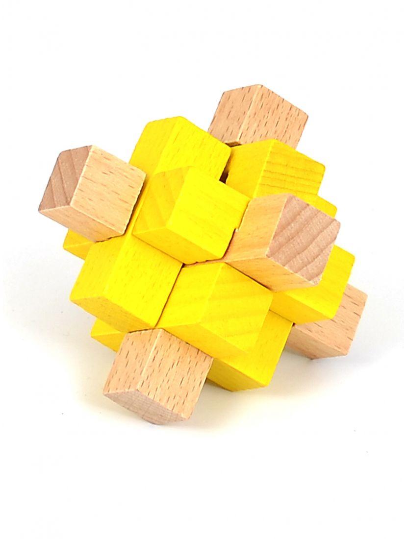 Головоломка «Двухцветный девятигранник»