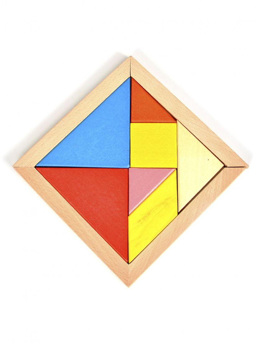 Головоломка «Большая деревянная мозаика»