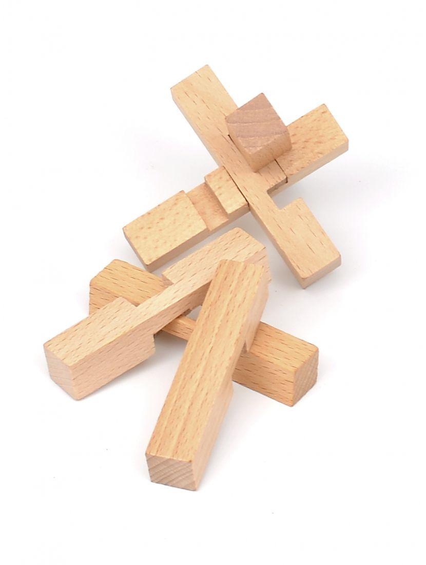 Головоломка «Узел - крест»